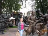 Скульптуры Церетели