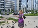 Приморская- ручные голуби