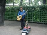 Музыкант в Летнем саду