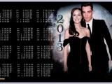 Календарь на 2013 и 2014 года - Сплетница - Чак и Блэр (Эд Вествик и Лейтон Мистер - Ed Westwick and Leighton Meester)