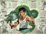Календарь на 2013 год - Брюс Ли