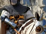 Шаблон мужской  Тевтонский рыцарь на коне, XII век