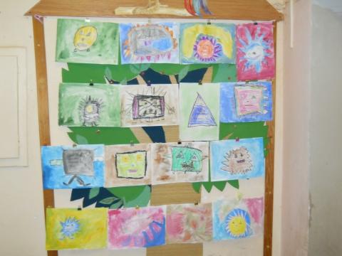 дети рисуют микробов - Светлана Николаевна Кильпияйнен