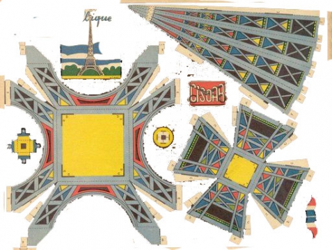 Башня из бумаги своими руками 3 класс технология