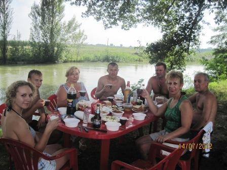 Встреча на природе - Леся Павловна Подрезова