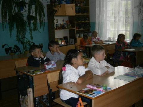 На уроке - Самый внимательный ученик на уроке