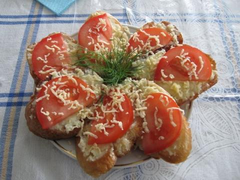 бут. с сыром и помидором - Ольга Николаевна Козина