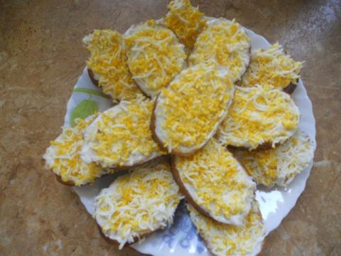бутерброд с яйцом - Ольга Николаевна Козина