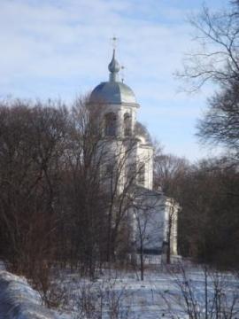 Церковь Успения зимой - Любовь Николаевна Юдина