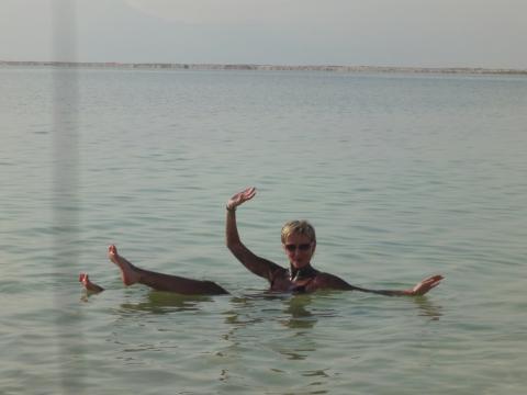 Мёртвое море(32%-ый солевой раствор!) - Светлана Николаевна Ладкина