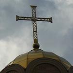 Крест на куполе храма - Ольга Яковлевна Ширяева