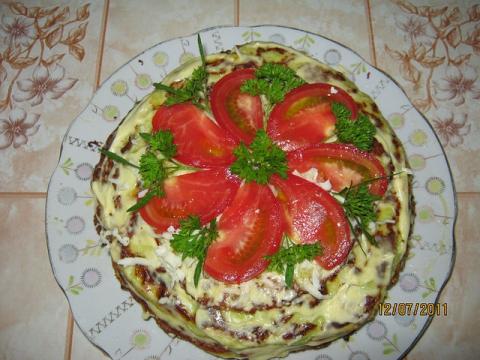 Кабачковый торт - Ирина Викторовна Лупашку