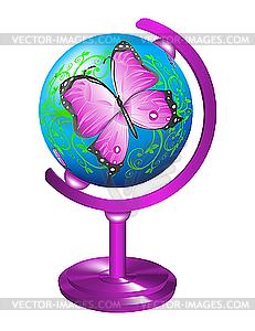 Бабочка на глобусе - Марина Юрьевна Горбачева