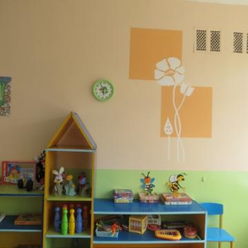 Картинки оформление стен в детском саду фото