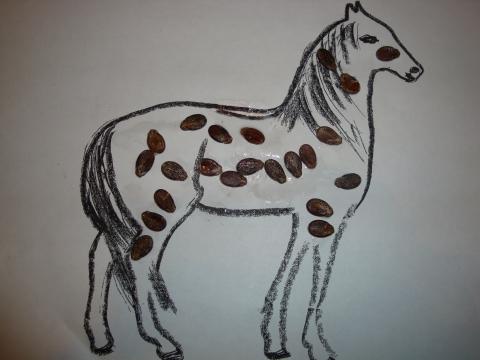 `Конь в яблоках`. - Надежда Григорьевна Греф