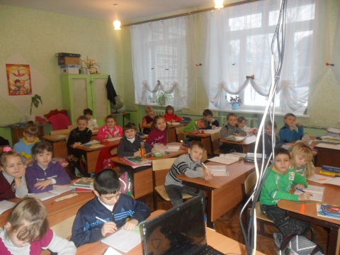 Мой 1 класс в 2011году - Светлана Михайловна Бамбурова