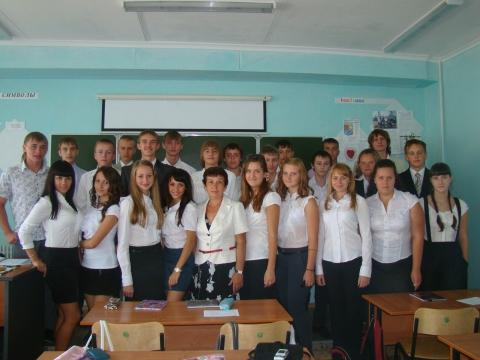 фото с учениками - Ольга Анатольевна Усачева