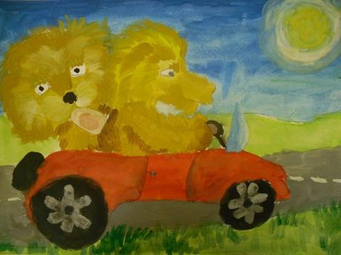 Львы в автомобиле - Ирина Валентиновна Богатырева