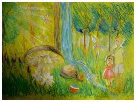 В сказочном лесу - Ирина Валентиновна Богатырева