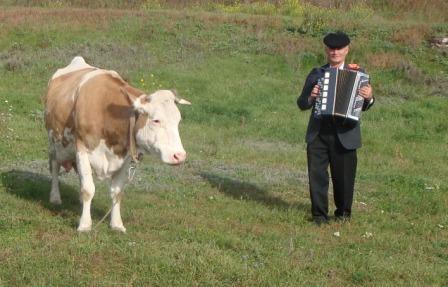 Мы с коровою - Юрий Васильевич Коновалов