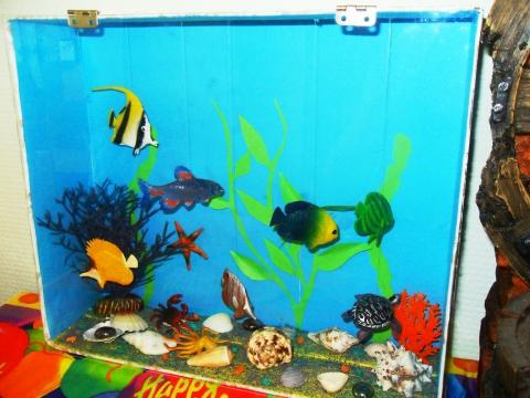 Аквариум в детский сад
