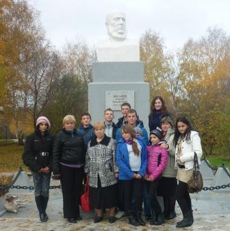 памятник - Муниципальное общеобразовательное учреждение ` Дмитриевская основная общеобразовательная школа`