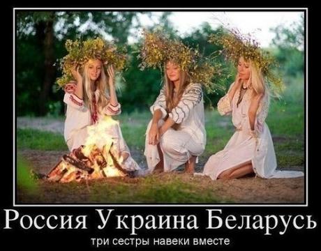 Россия, Украина, Беларусь - три сестры... - Т. В. АВДЕЕВА