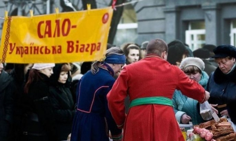 Сало -  украинская ВИАГРА