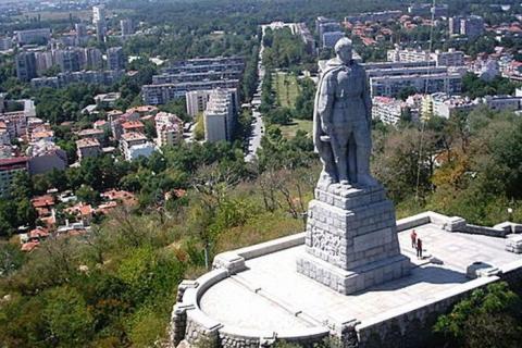 Памятник Воину-освободителю в Болгарии - Наталья Викторовна Размашкина