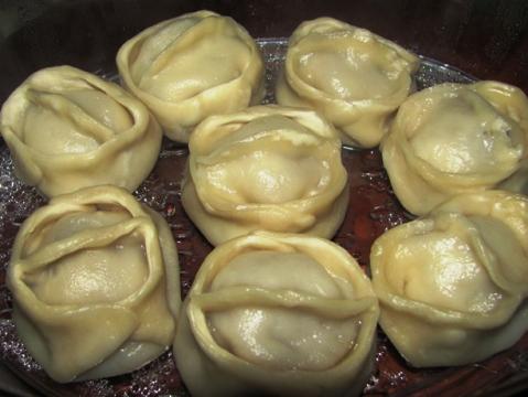 Рецепт мантов с пошаговым приготовлением с фото