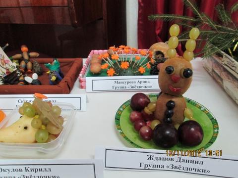 Названия поделок с овощей