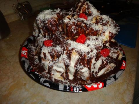 как приготовить торт арабские горки дома