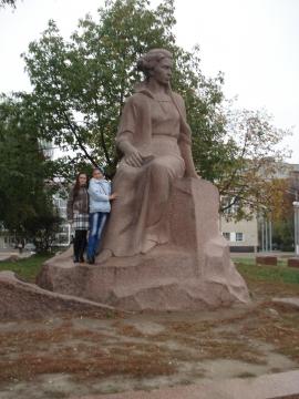 Памятник Лесе Украинке - Ольга Яковлевна Ширяева