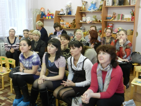 Гости и участники семинара-практикума в ГБДОУ №108 Невского района  - Екатерина Валентиновна Францужан