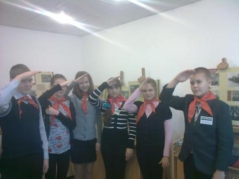 В музее истории детского движения, ПДДТ - Оксана Витальевна Антуфьева