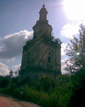 Ишлык. Церковь - Анатолий Сергеевич Чибаков
