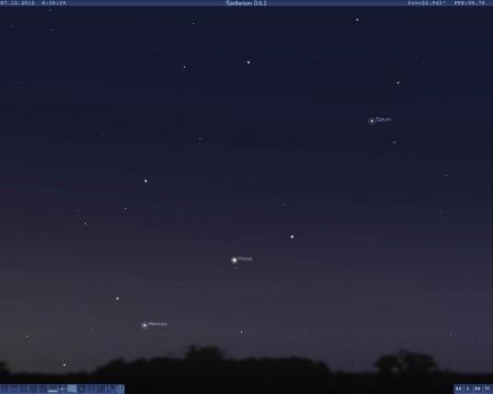 Минипарад планет 7 декабря 2012 - Александр Владимирович Серолапкин