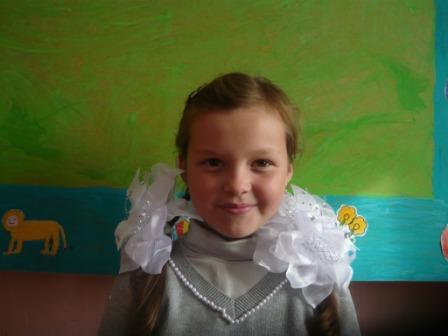Ерофеева Вика ученица 4-5 класса - Светлана Васильевна Цыден-Ешиева