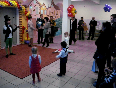 Дети готовы войти в новый садик - Лицей № 572