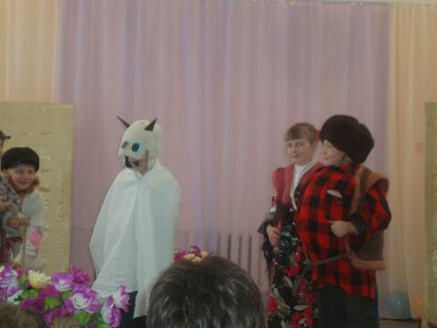 Как мужик корову продавал - Муниципальное образовательное учреждение Северокоммунарская средняя общеобразовательная школа