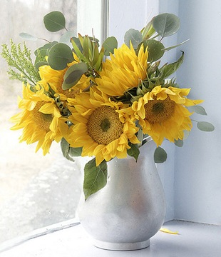 солнечный букетик цветов - Ангелина Васильевна A.B.M.