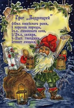 грог БОДРЯЩИЙ - Ольга Николаевна Козина