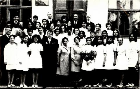 Выпуск 1973 г. Параллельный класс - Виктор Гаврилович Дубровин