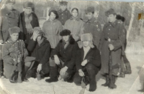 Зарница в 9-м классе - Виктор Гаврилович Дубровин