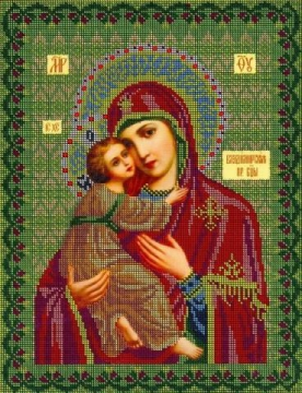 Богородица `Владимирская` - Ярмарка Соц.Мастеров России