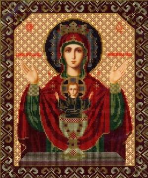 Богородица `Неупиваемая чаша` - Ярмарка Соц.Мастеров России