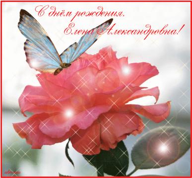 С днём рождения, Елена Александровна!