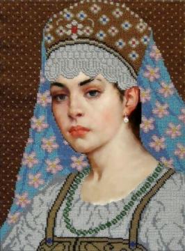 Картины бисером `Искусница` - Ярмарка Соц.Мастеров России