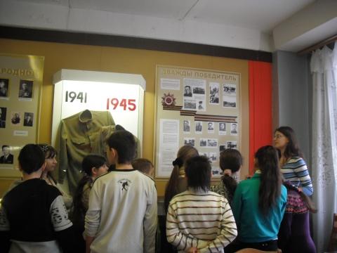 этапы ВОв - лучший школьный музей