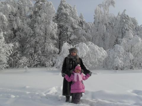 Зимняя сказка для внучки! - Тамара Николаевна Панфёрова